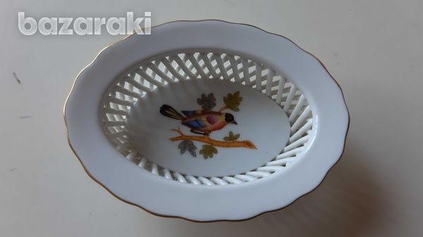 Herend porcelain with bird-1