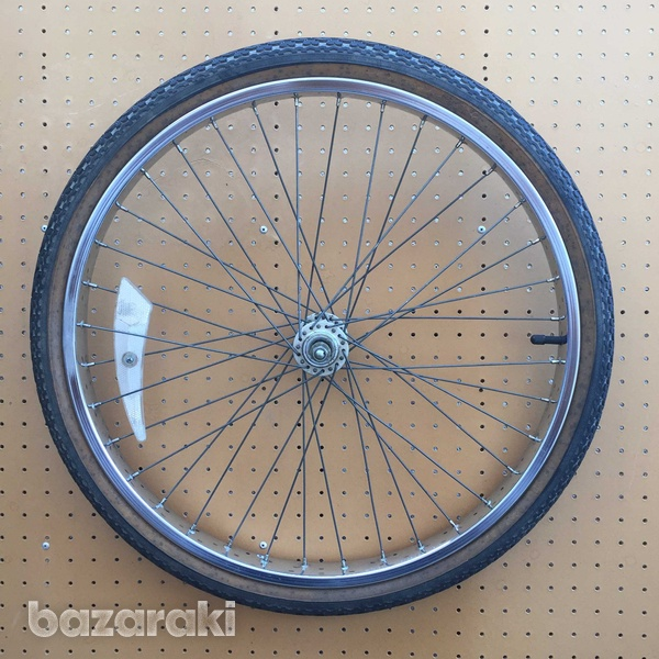 Raleigh front wheel and tyre-3