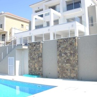 Modern 6 bedroom villa with stunning sea view in germasogeia