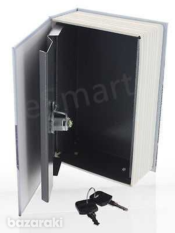 Hidden book safe lock secret security money hollow book wall dictionar-2