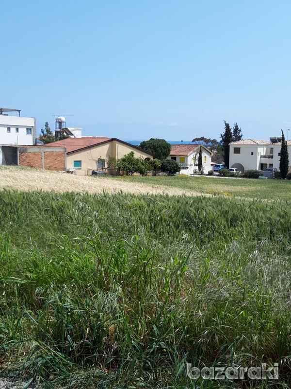 Residential land in mazotos village suitable for development with sea view-6