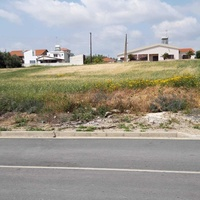 Residential land in mazotos village suitable for development with sea view