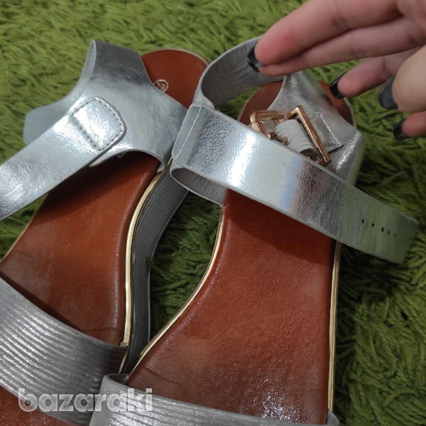Silver sandals-2