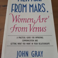Men are from mars woman are from venus book