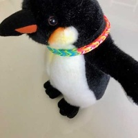Cute baby penguin with a fashion necklace