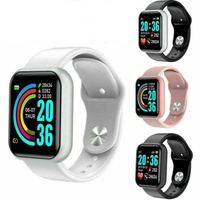 Fitness watch tracker heart rate blood pressure oxygen calories