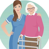 English for nursing and alzheimer's caregivers