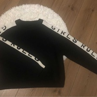 Terranova black and white jumper xl