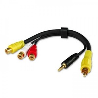 Lindy audio video adapter cable - 35538