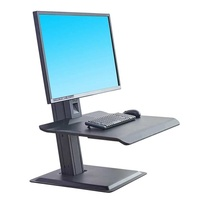 Sit and stand workstation