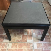 Medium square coffee table