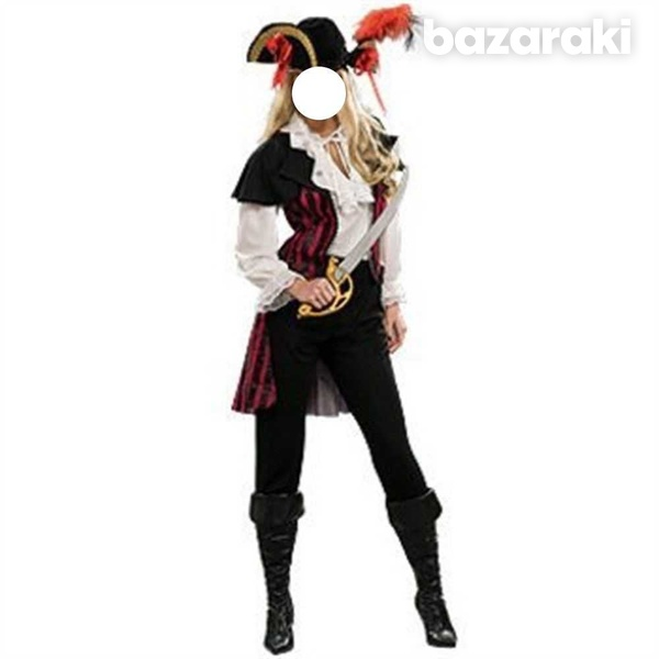 Rubie's pirate costume and hat-1