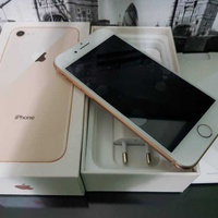 Apple iphone 8 64gb, gold with box and accessories