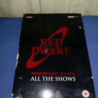 Red dwarf british science fiction comedy dvds 2008 anniversary edition .
