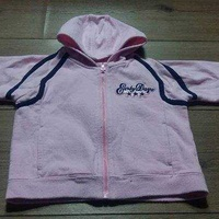 Baby girl's pink hoodie 6-12 months