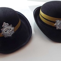 Carnival - pair of traffic wardens hats