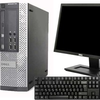 Dell optiplex 390 sff/19 dell monitor/keyboard.mouse