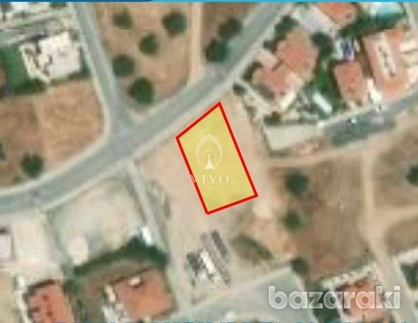 Residential plot of 605m2 in erimi