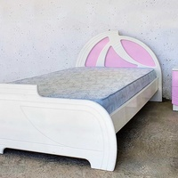 Bed with mattress and drawer