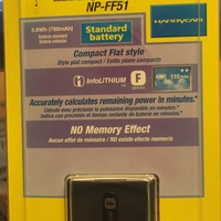 Np-ff51 battery pack