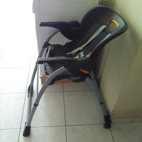 Chicco children high chair made in italy with 4 possitions and safety systems