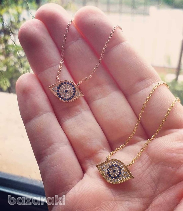 New silver 925 eye necklaces