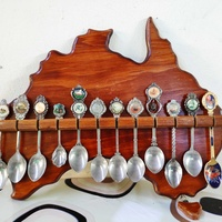 Vintage collection of spoon