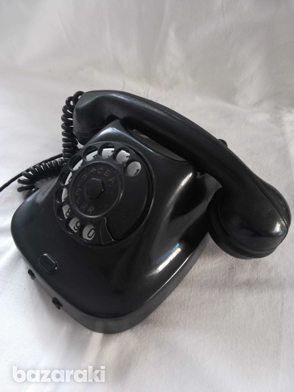 Old retro phone from 1963.-3