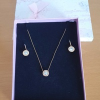 Michael kors necklace and earrings