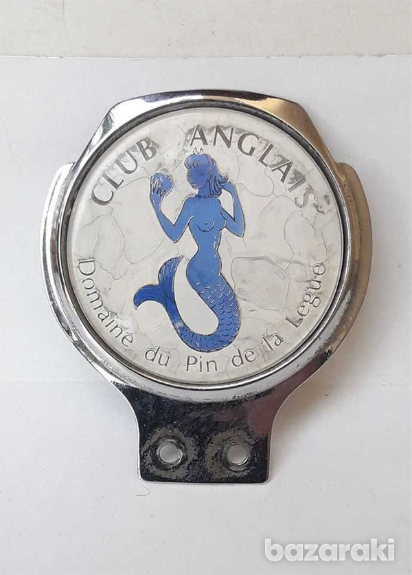 Vintage classic car badge club anglais in very good condition.-1