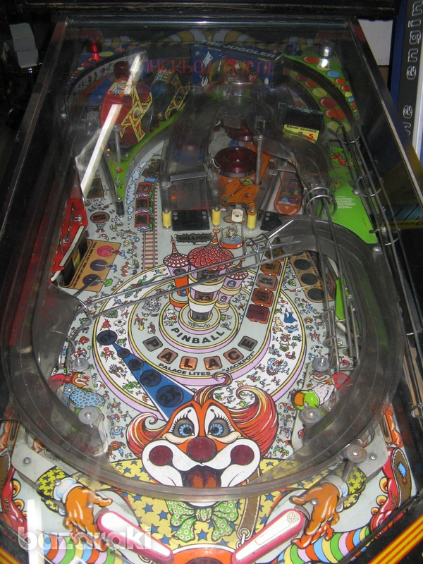 Williams hurricane pinball flipper machine-4