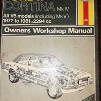 Ford cortina mk iv 2.3 v6 models 1977 79 haynes workshop manual