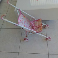 Stroller small size for child dolls excellent condition like new.