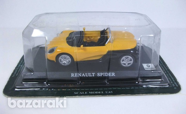 Renault spider in yellow and black-1
