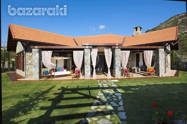 Under construction breathtaking mountain villa with panoramic views-12