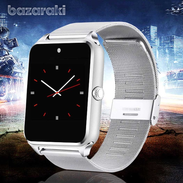 Smart watch stainless steel for android ios iphone-2