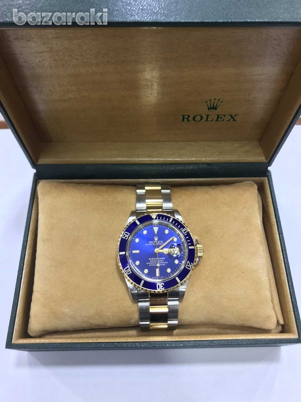 Rolex submariner model with original box and papers-1