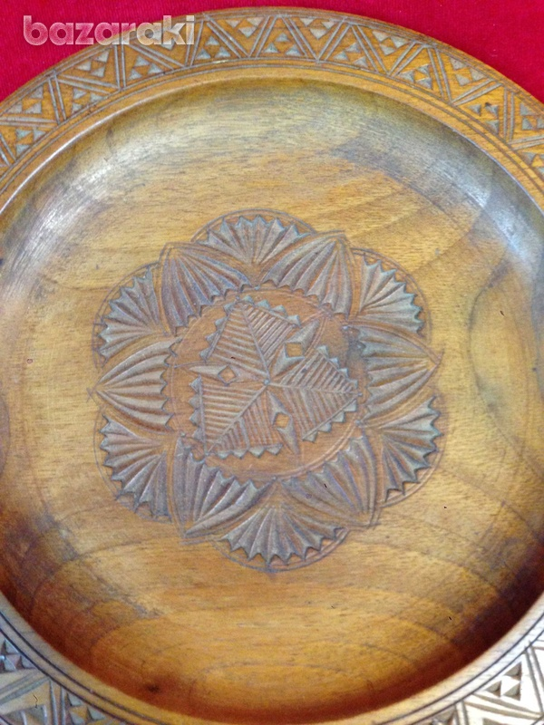 Wooden display plate-2