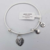 Urban leaves heart to your key bangle heart to your key bangle ulsy005