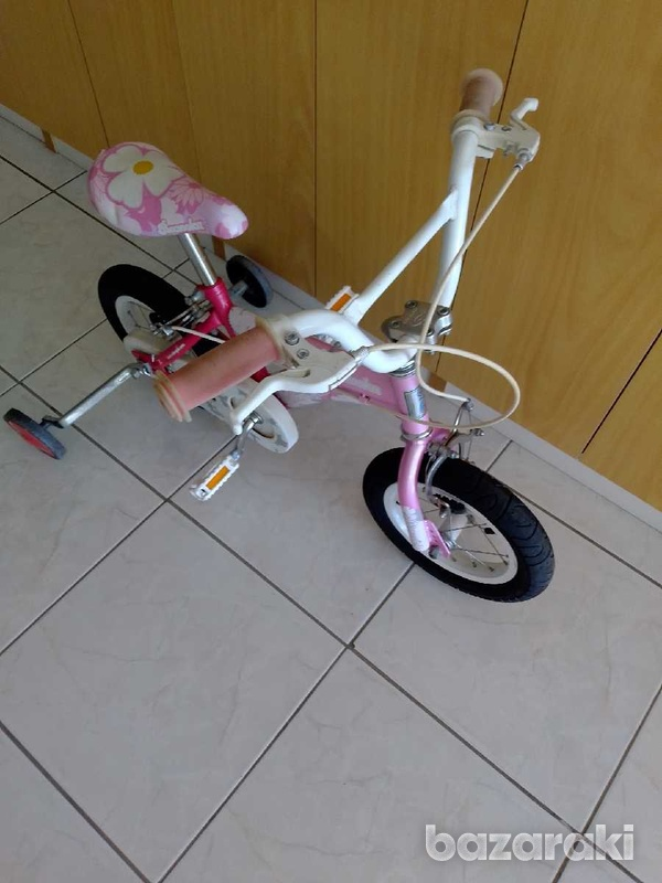 Bicycle for child with side wheels excellent condition like brand new.-5