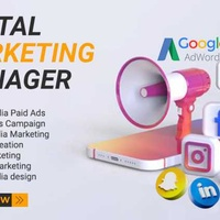 We will be your social media manager or social media marketing expert