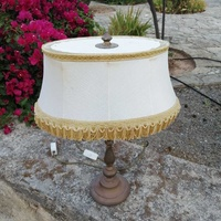 3 brass lamps