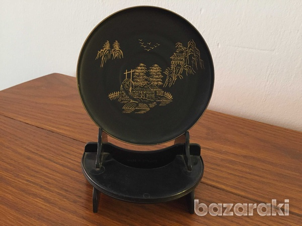 Japanese antique plate-1