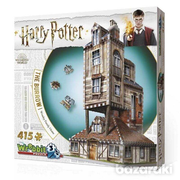 Harry potter 3d puzzl the burrow-2
