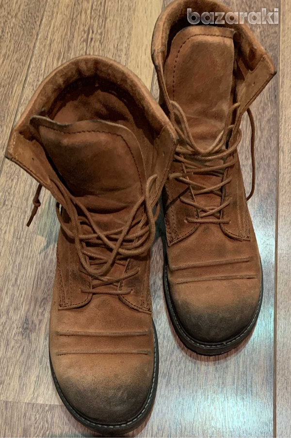 Kickers camel ankleboots, size 41-2