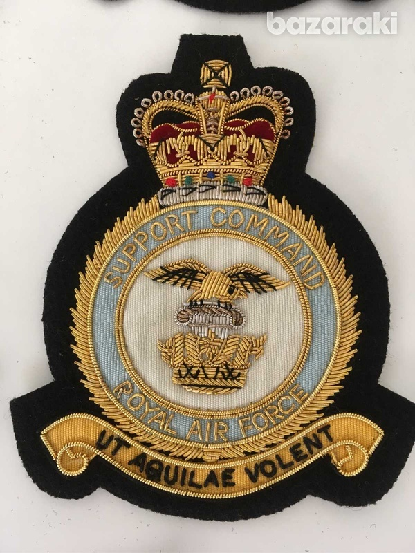 18pcs set of royal air force embroidered patches badges - collectibles-5