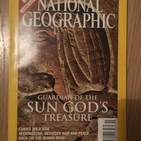 National geographic november 2003