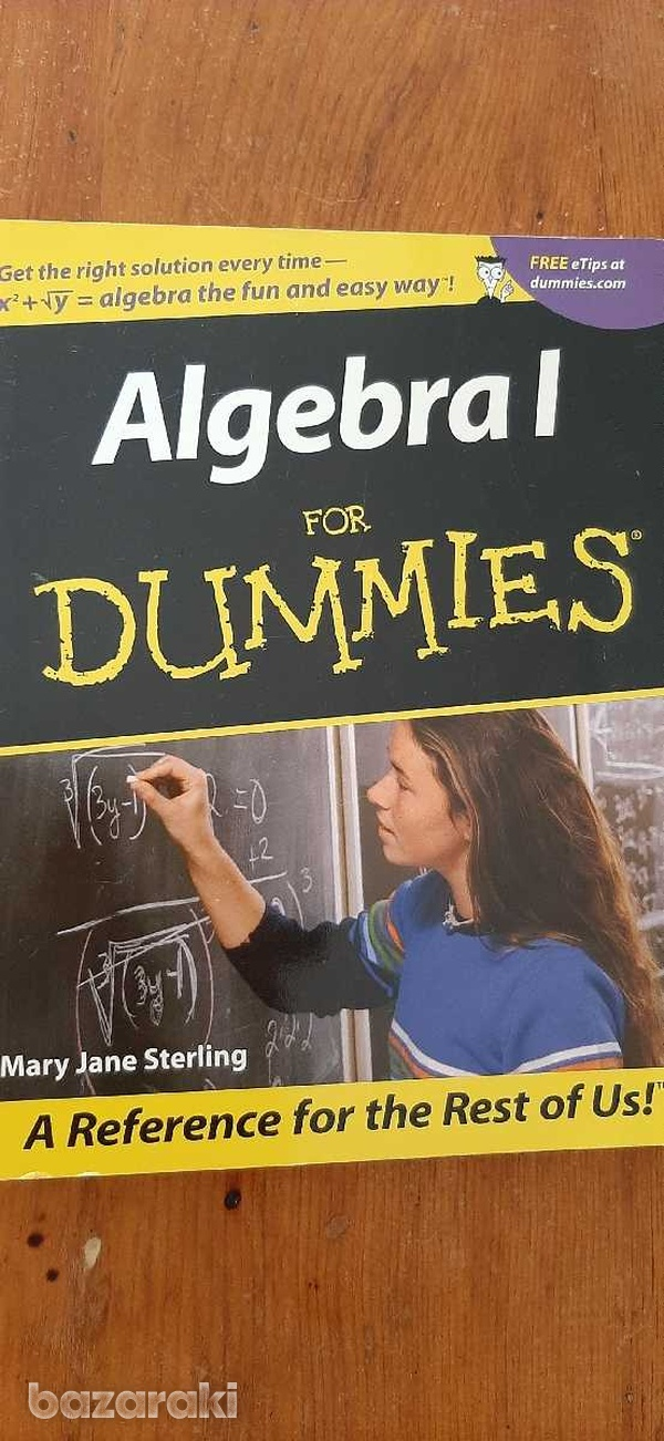 Algebra 1 for dummies book-1