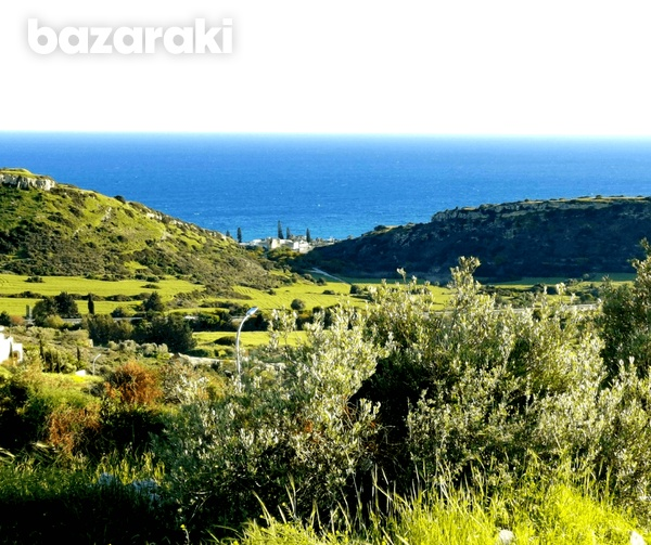 Land in ayios tychonas with unobstructed sea view-7