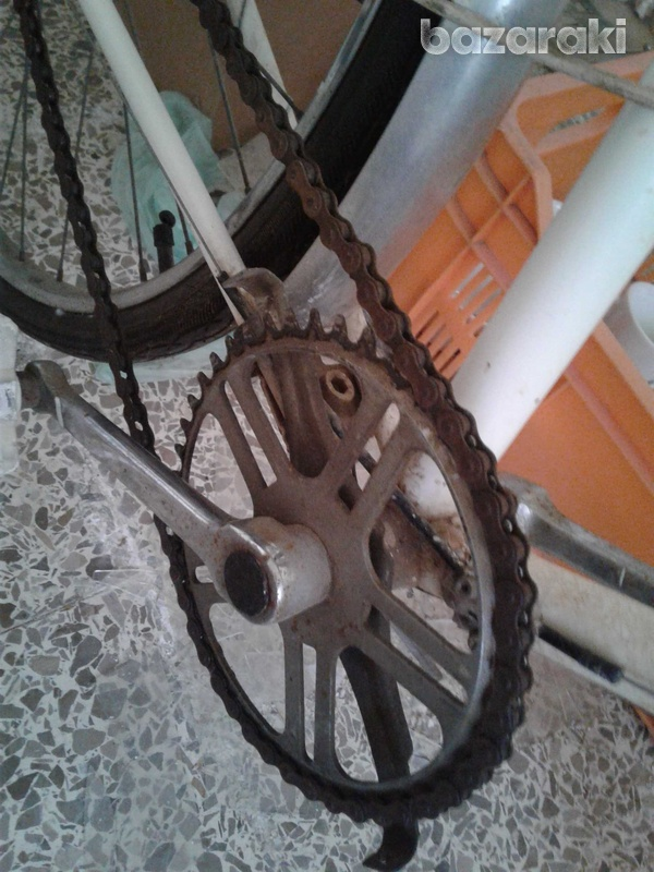 English antique bicycle with 3 gears-6